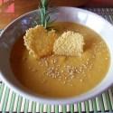 crema boniato - Receta de crema de otoño con boniato y verduras