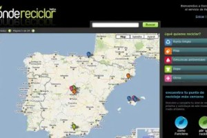 donde reciclar - Donde reciclar: mapa con los puntos de reciclaje en España