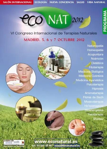 econat - ECONAT 2012: VI Congreso Internacional de Terapias Naturales