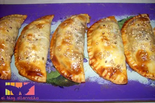 emp espinacas7 - empanadillas de espinacas, tomate y pasas