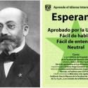 esperanto - ESPERANTO: 150 aniversario de su creador Lázaro Zamenhof
