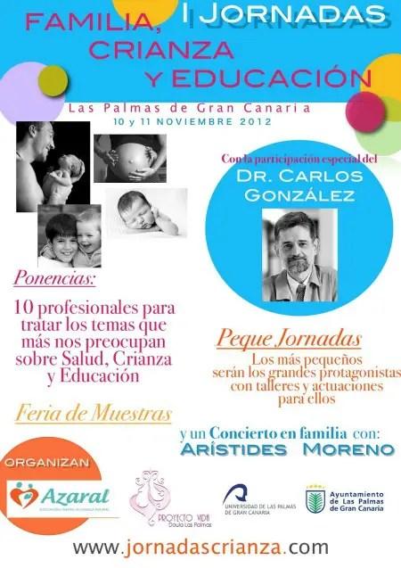 familia crianza educación - Familia, crianza y educación. I Jornadas en Las Palmas de Gran Canaria (online y presencial)