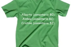 ganadores sorteo camisetas mandacaru - Ganadores del sorteo Mandacarú