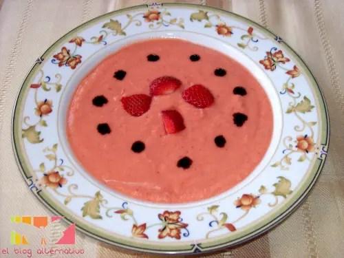 gazpacho - gazpacho de fresas
