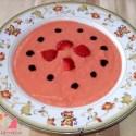 gazpacho - Receta de gazpacho de fresas
