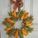 guirnalda3 - Decoración navideña con frutas secas