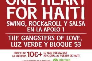 haiti - ONE HEART FOR HAITI: concierto solidario en Barcelona el 26 de febrero del 2010