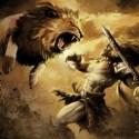 hercules against the lion - El león de Nemea: 5º trabajo de Hércules