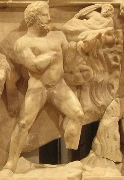hercules05 stablesAugias - Limpiando los establos de Augías: 11º trabajo de Hércules