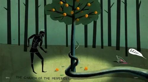 hercules2 - hercules manzanas oro hespérides