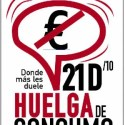 huelga consumo - Huelga de consumo el 21 diciembre 2010: donde más le duele al Sistema