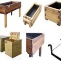 huerto1 - Huertos ecológicos y solidarios en madera reciclada
