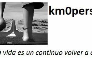 km0personal - KM 0 PERSONAL: porque la vida es un continuo volver a empezar