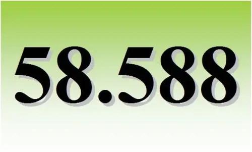 loteria - 58588
