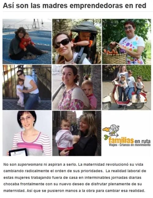 madres emprendedoras - madres emprendedoras familias en ruta