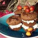 magdalenas2 - Receta de magdalenas de chocolate rellenas de mascarpone