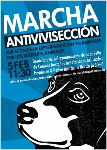 marcha antivivisección - marcha antivivisección