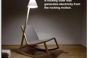 mecedora1 - Mecedora que genera luz con el balanceo