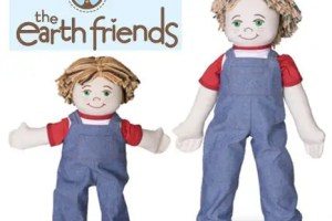 munecos ecologicos portada - The Earth Friends: muñecos ecológicos