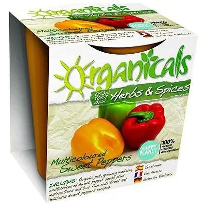 organicals kit botanico pimientos multicolores - Organicals kit botanico pimientos multicolores