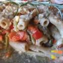 pastaportda - Pastel de macarrones integrales con verduritas