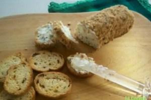 pate - Receta de paté de queso con avellanas
