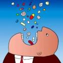 pill man - Iatrogénesis cultural: reflexiones sobre la hipermedicalización de la sociedad y la quimera de la búsqueda del bienestar total