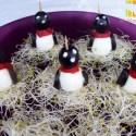 pinguinos - Huevos pingüino para aperitivos