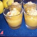 postre manzana - Postre de manzana con avellanas al aroma de naranja y vainilla