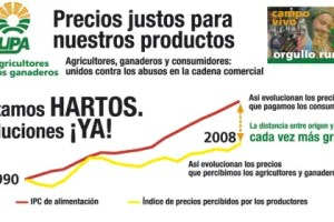 preios justos - Precios justos para nuestros productos. Campaña de la UPA contra los abusos en la cadena comercial