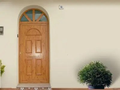 puerta con escalón - Para que no entre el frío por la puerta. Los viernes de Ecología Cotidiana