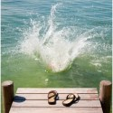 saltar río - La puerta del cambio