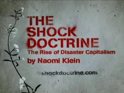 shock - la doctrina del shock