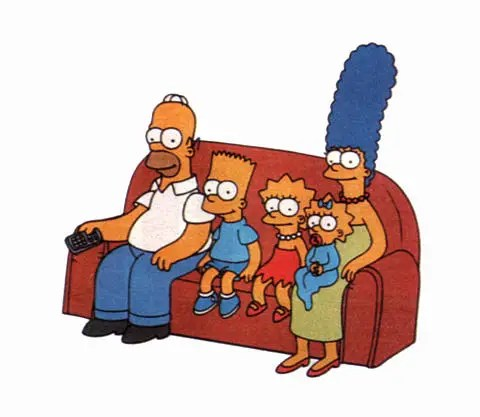 simpsons sofa - simpsons sofa