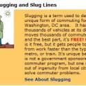slugging - Slugging: autostop solidario