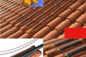 tejas solares - Tejas solares: aprovechar la energía solar sin romper la estética de los edificios