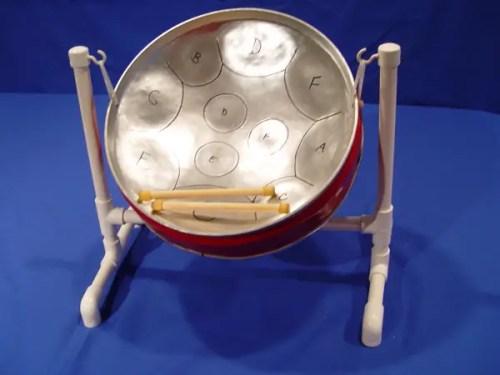 trinidad steel pan drum -