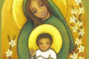 virgen2 - La Navidad Interior por Laura Gutman: el sagrado nacimiento