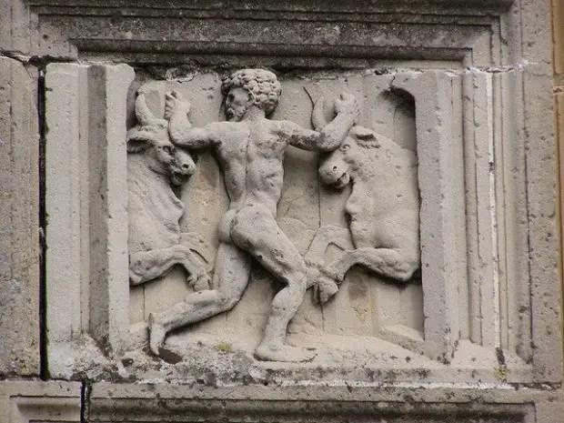 1toros de gerion - La captura de la manada de Gerión: el 12º trabajo de Hércules