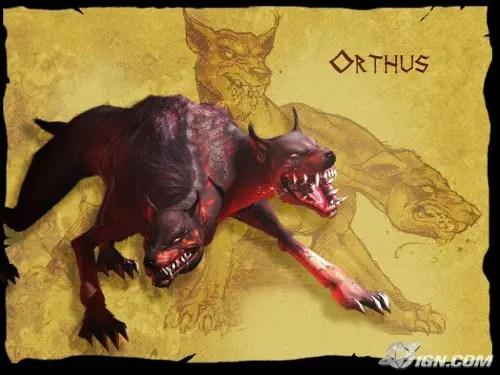 Orthus - La captura de la manada de Gerión: el 12º trabajo de Hércules