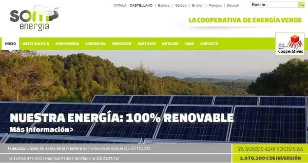 Som Energia - SOM ENERGIA, Cooperativa de Energía Verde. Entrevistamos a Juan José Fuentetaja