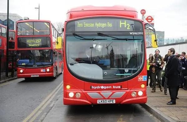 Bus de hidrogeno - El 2013 será más ecológico. Los viernes de Ecología Cotidiana