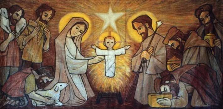 El+nacimiento+los+pastores+y+magos.+Noviciado.+92 - El simbolismo Arquetípico de El Nacimiento de Jesús