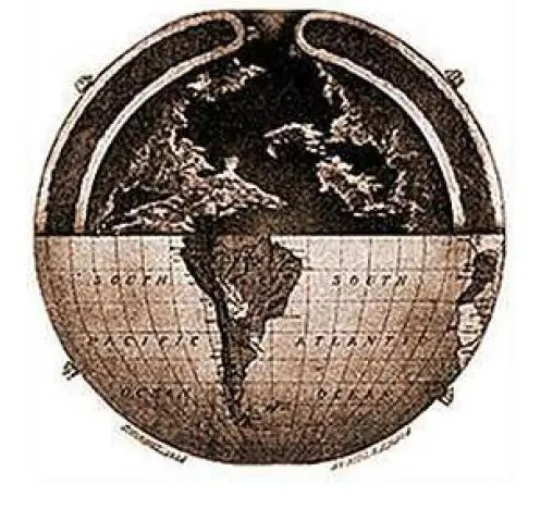 TH2 - LA TIERRA HUECA: aperturas solares, dos nuevos continentes y civilización intraterrena