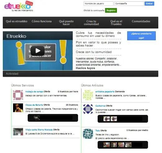 etruekko red de intercambio - ETRUEKKO, tu red de intercambio. Los viernes de Ecología Cotidiana