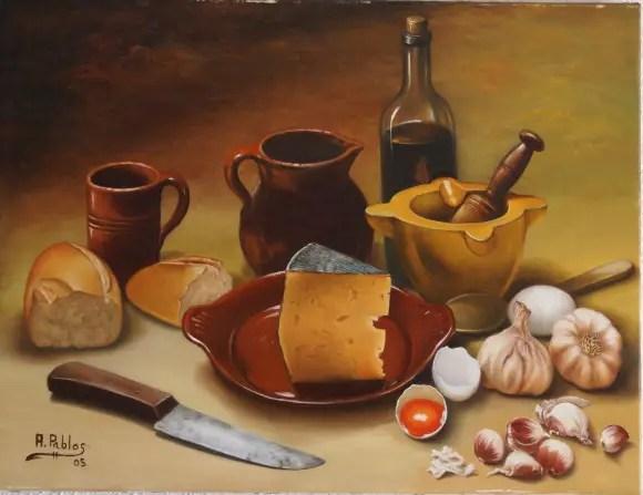 bodegon angel pablos - La cocina como meditación y 4 artículos más de La Cocina Alternativa