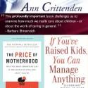 """ann crittenden - """"Criar un hijo es el trabajo más importante e influye poderosamente en la economía"""" Ann Crittenden"""