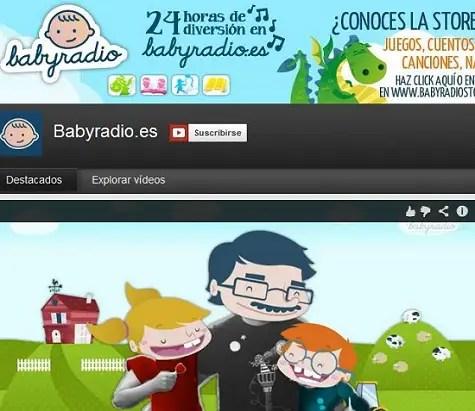 BabyRadio en Youtube - BabyRadio en Youtube