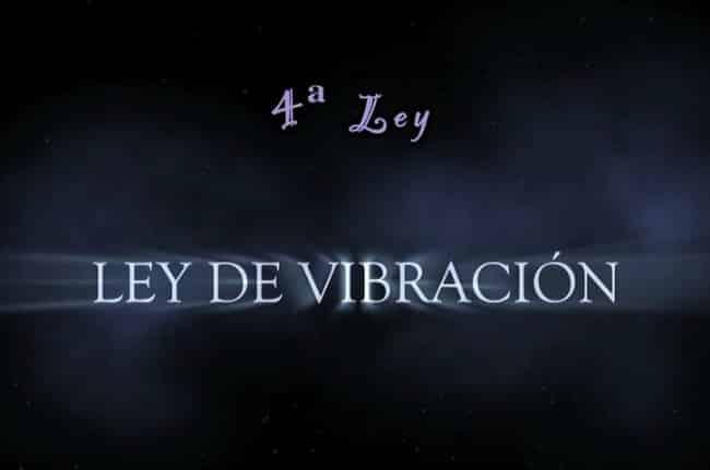ley vibracion