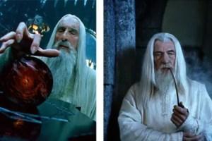saruman y gandalf - Los Arquetipos y su expresión en personajes cinematográficos